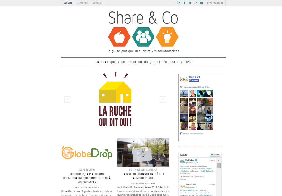 Share & Co Screenshot