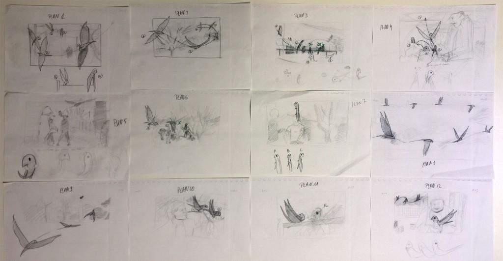 storyboard Arnaud