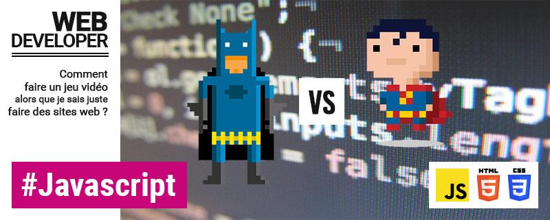 Du Javascript pour le jeu vidéo